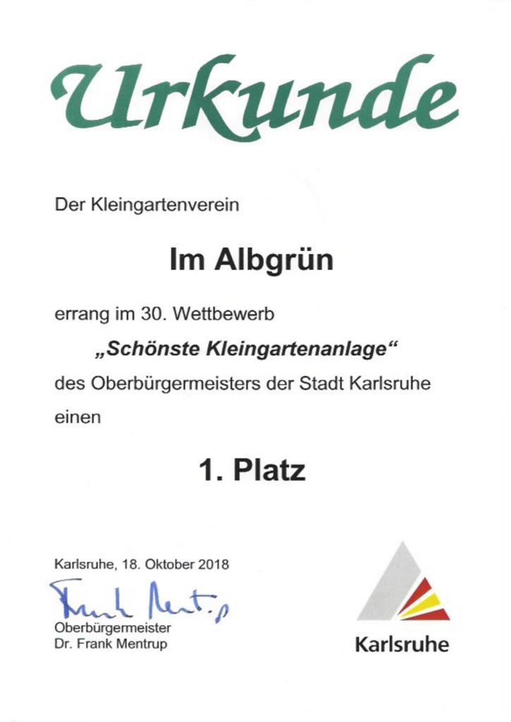 OB Wettbewerb der Stadt Karlsruhe